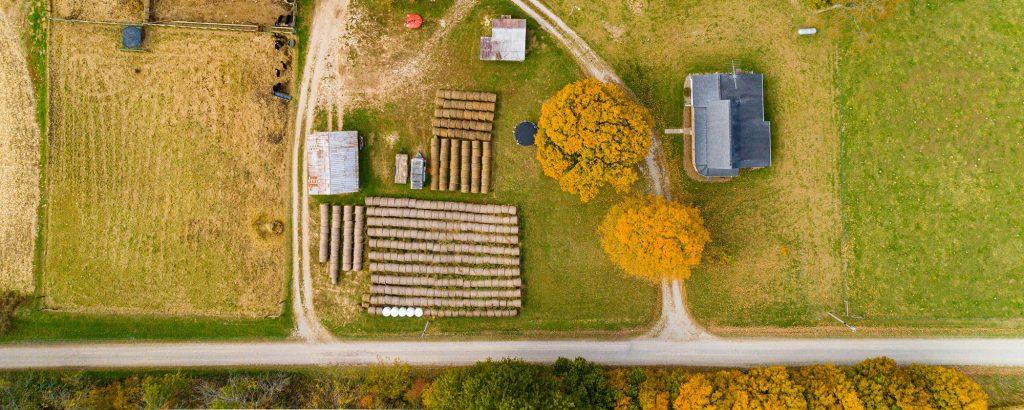 overhead farm