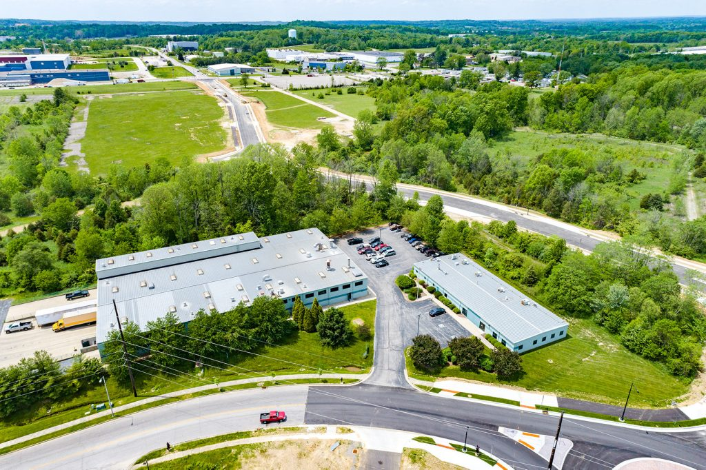 Bloomington aerial photo property panorama