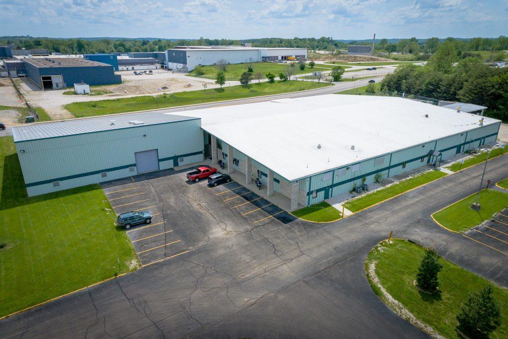 Bloomington aerial photo property